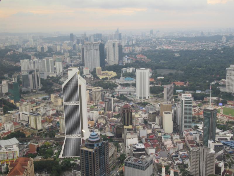 KLタワーからの眺め2