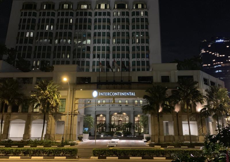 インターコンチネンタルホテル シンガポール