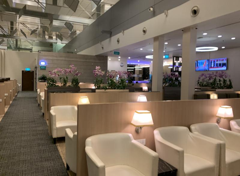 STAS Premier Lounge内部