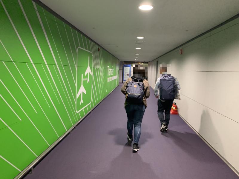 仁川国際空港乗換通路