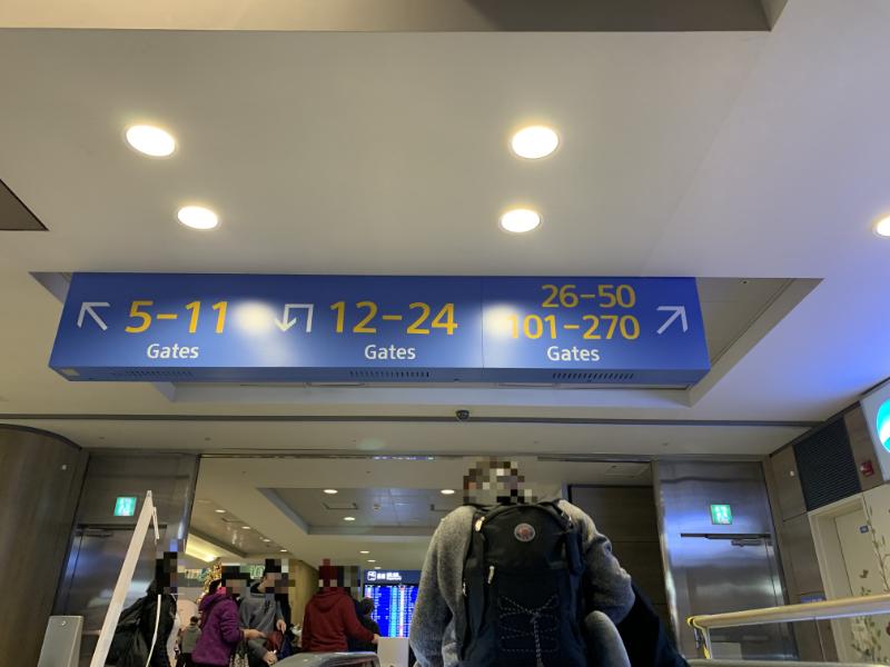 仁川国際空港出発フロア
