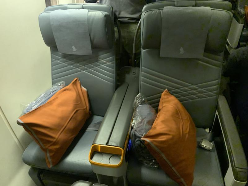 シンガポール航空座席