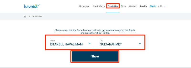 Havaist Webサイト