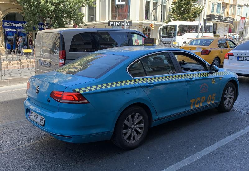 水色タクシー
