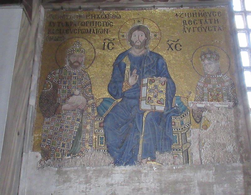 キリストと女帝ゾエ夫妻