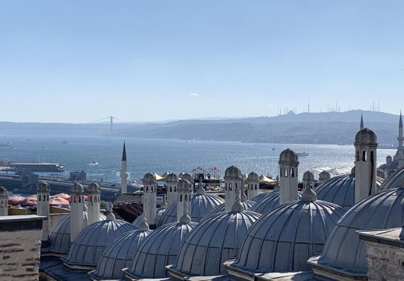 スレイマニエ・モスクからの眺望