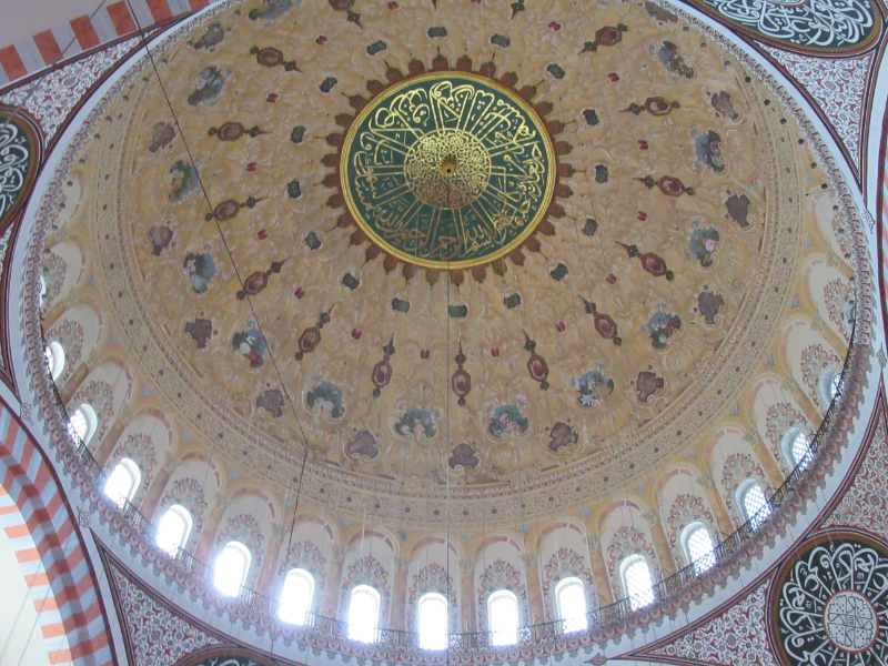 スレイマニエ・モスク内部