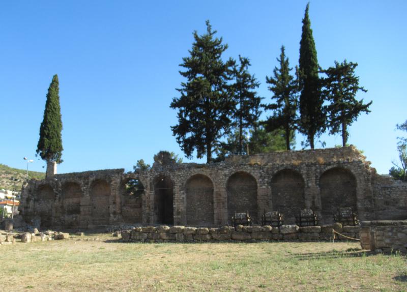 ダフニ修道院壁
