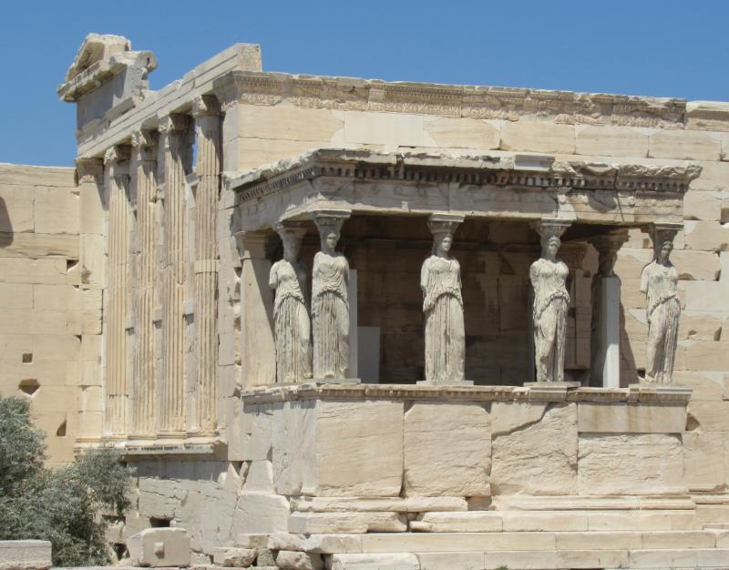 エレクテイオン神殿女神像