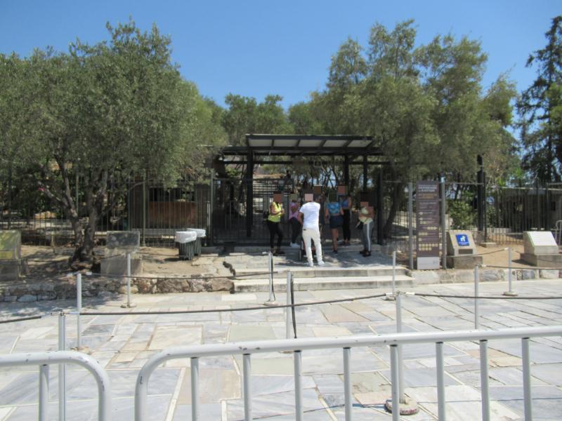 アクロポリス入口