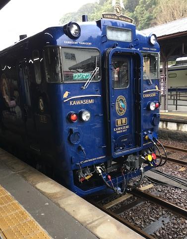 人吉の電車