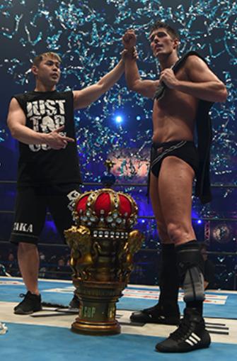 ニュージャパンカップ2018優勝ザック・セイバーJr.