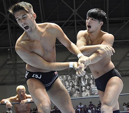 ザック・セイバーJr.vs成田蓮
