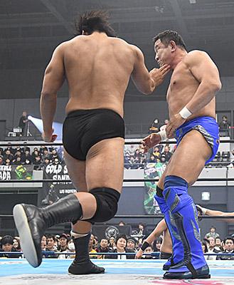 海野翔太vs永田裕志
