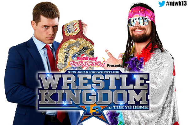 IWGPUSヘビー級選手権試合:Cody vs ジュース・ロビンソン