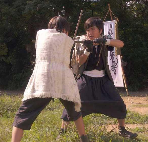 鈴木福の殺陣