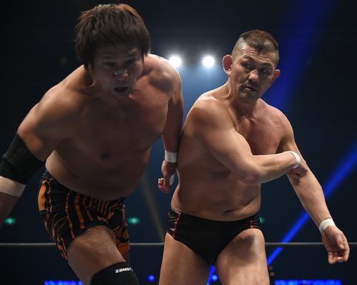 小島聡vs鈴木みのる