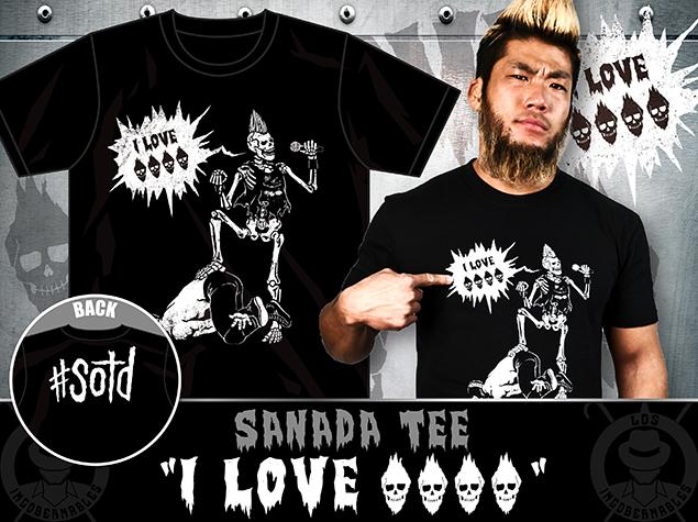 SANADAのTシャツ