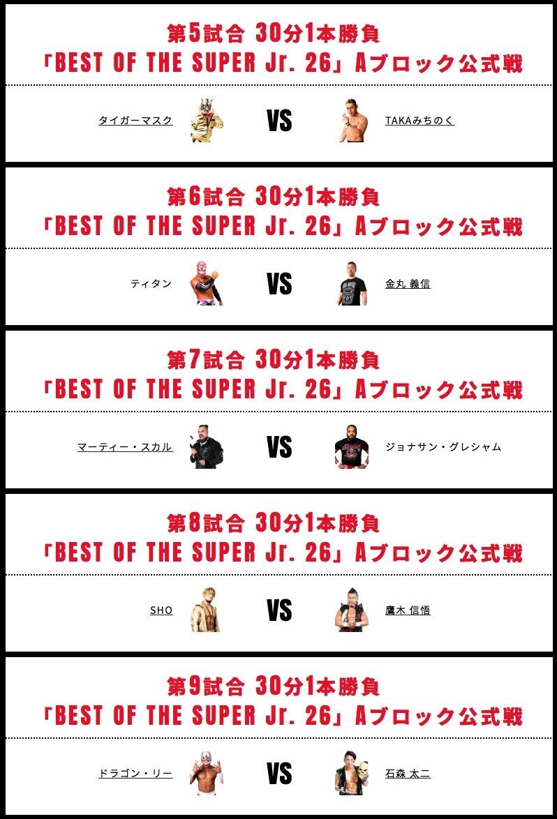 BEST OF THE SUPER JR.2019 初戦