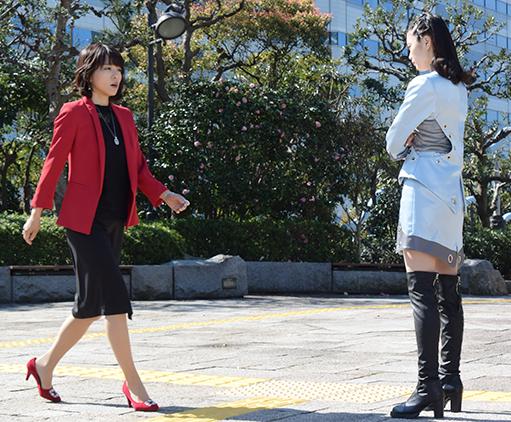 釈由美子 vs オーラ