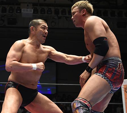 鈴木みのる vs オカダ・カズチカ