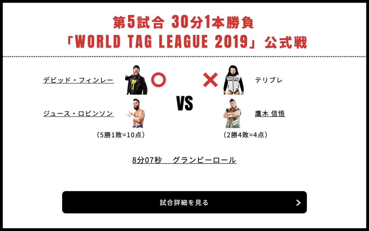 ジュース・ロビンソン&デビッド・フィンレー vs 鷹木信悟&テリブレ