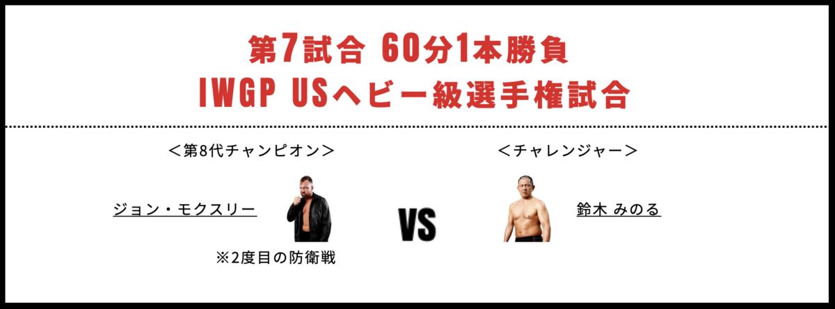 ジョン・モクスリー vs 鈴木みのる