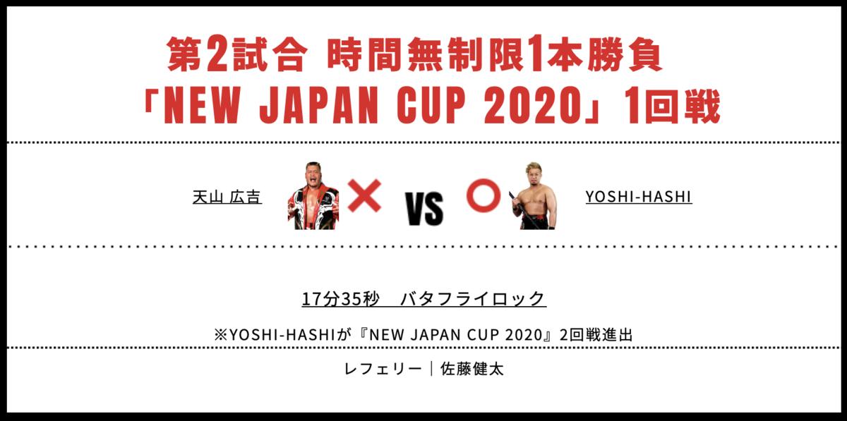 天山広吉 vs YOSHI-HASHI