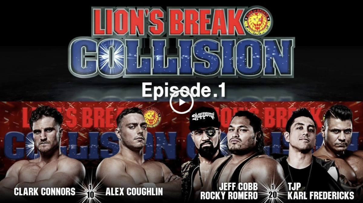 Lion's Break Collision #1
