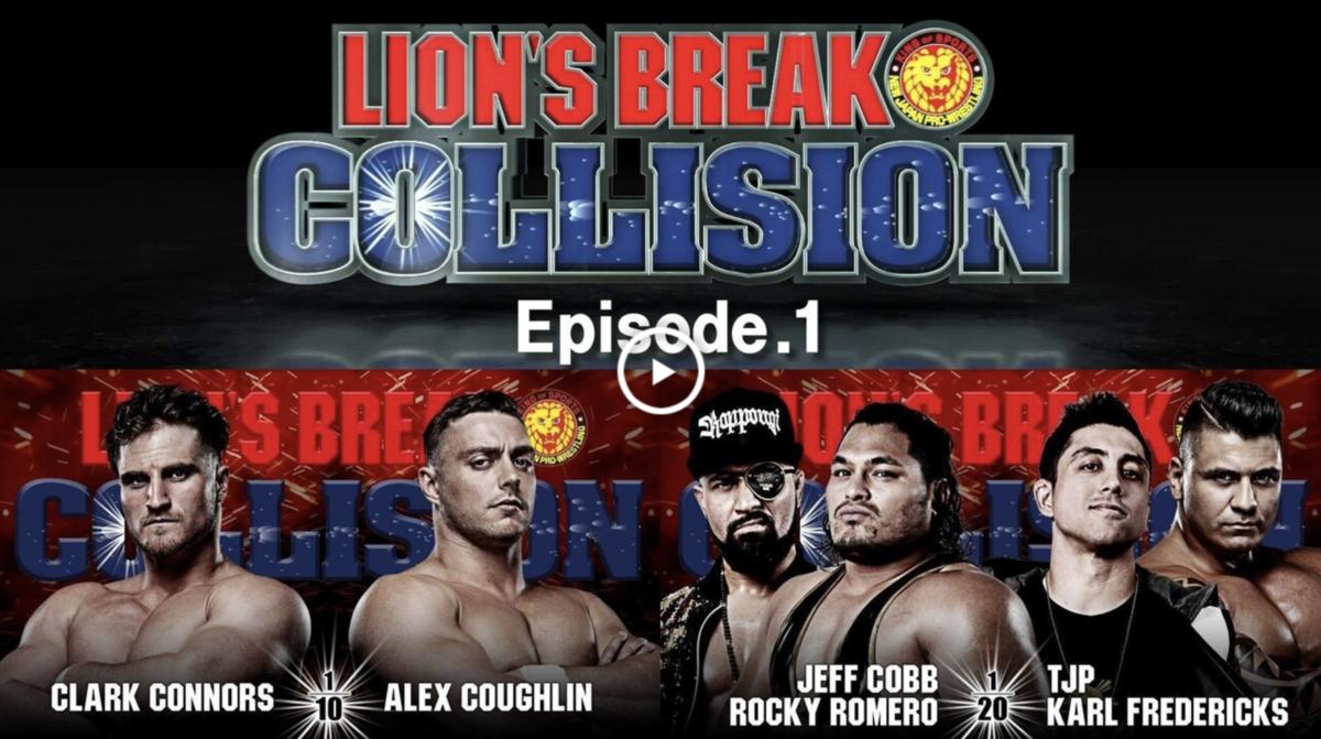 Lion's Break Collision #1