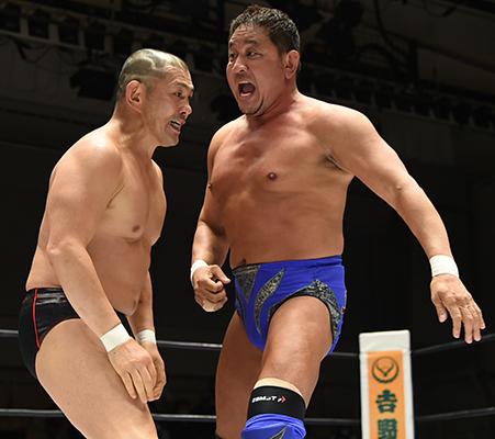 永田裕志 vs 鈴木みのる