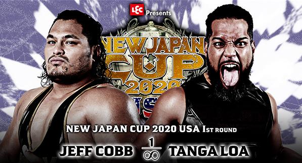 ジェフ・コブ vs タンガ・ロア