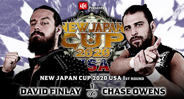 デビッド・フィンレー vs チェーズ・オーエンズ
