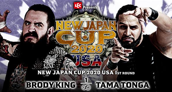 ブロディ・キング vs タマ・トンガ