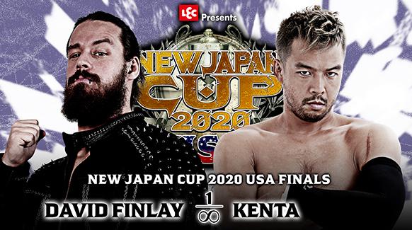 NEW JAPAN CUP 2020 in the USA 決勝戦:デビッド・フィンレー vs KENTA