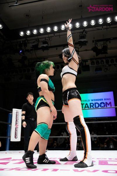 飯田沙耶 vs レディC