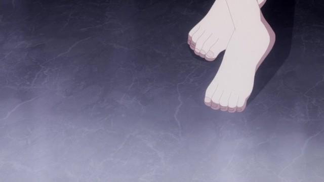 ユエの裸足