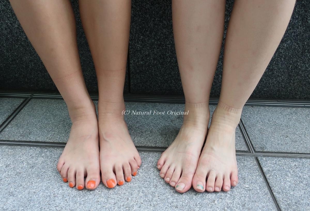 裸足の街撮り