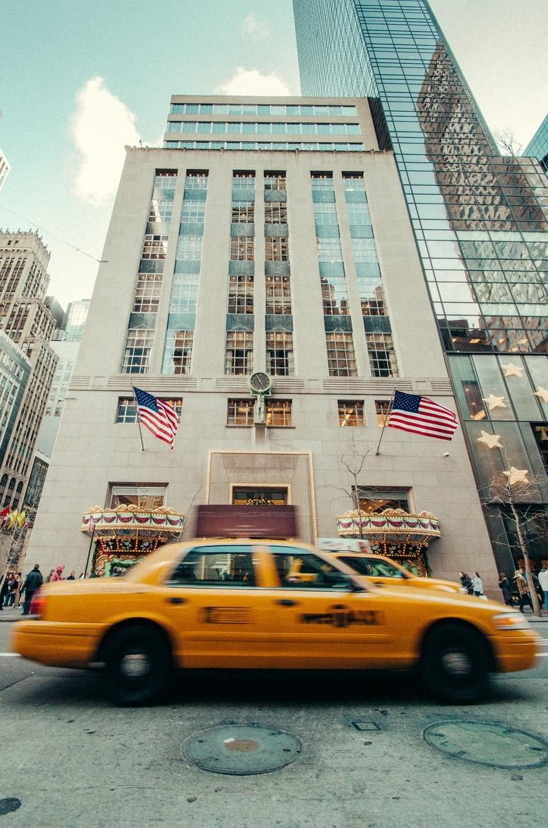 ニューヨーク5番街ティファニー