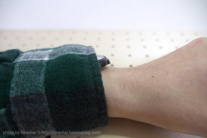 腕時計 長袖