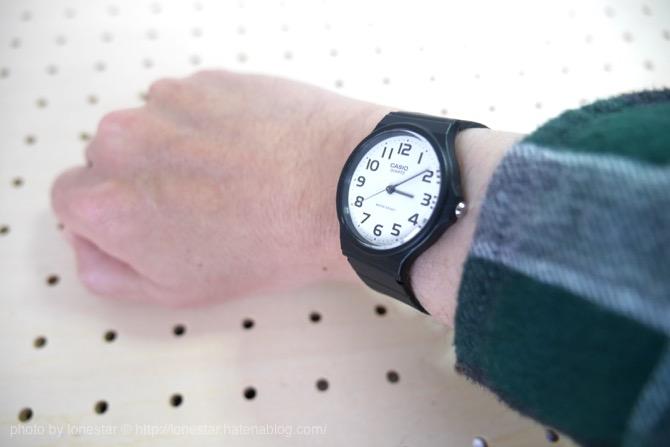 手首が細い 時計 右手