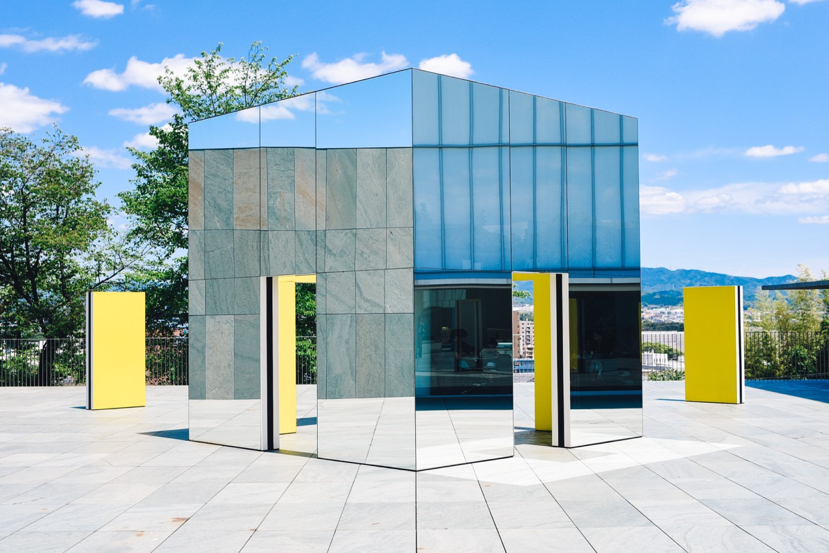 豊田市美術館 鏡