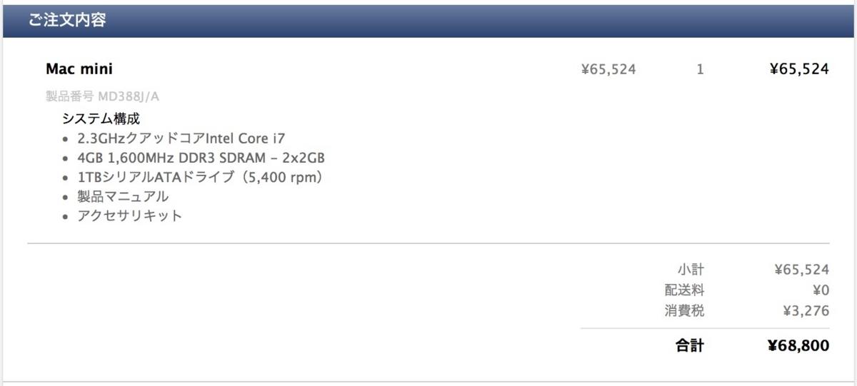 Mac mini 買取