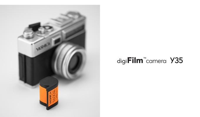 デジフィルムカメラ Y35