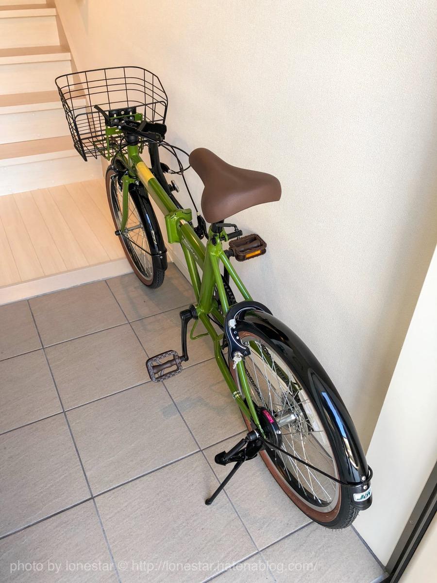 折りたたみ自転車 玄関収納
