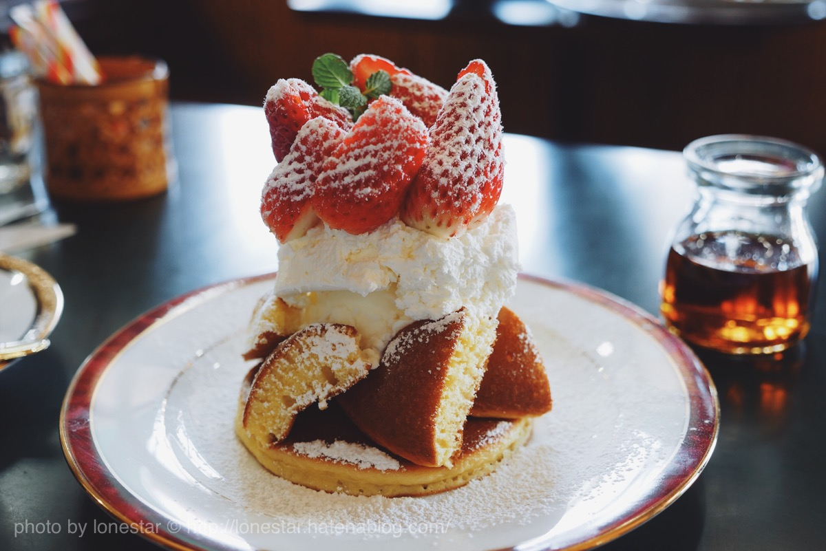 三愛 季節限定 ホットケーキ