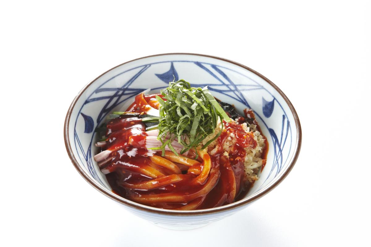 丸亀製麺 ビビンうどん