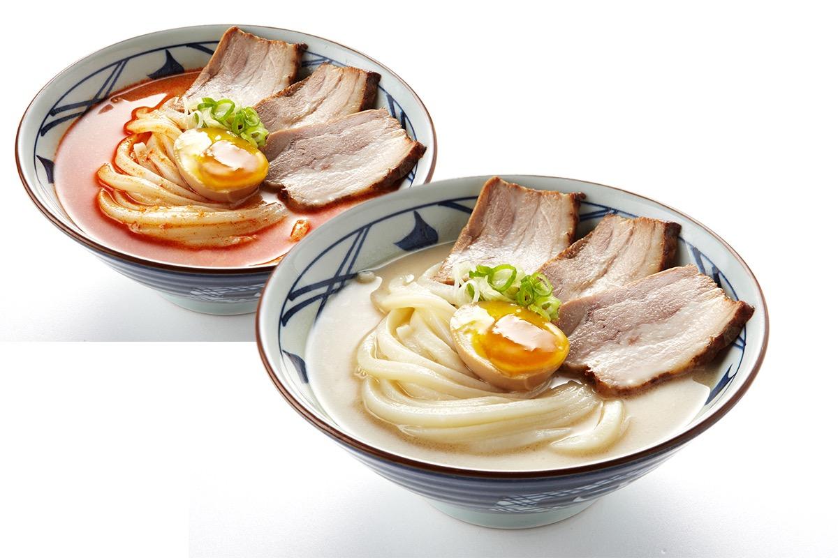 丸亀製麺 豚骨うどん