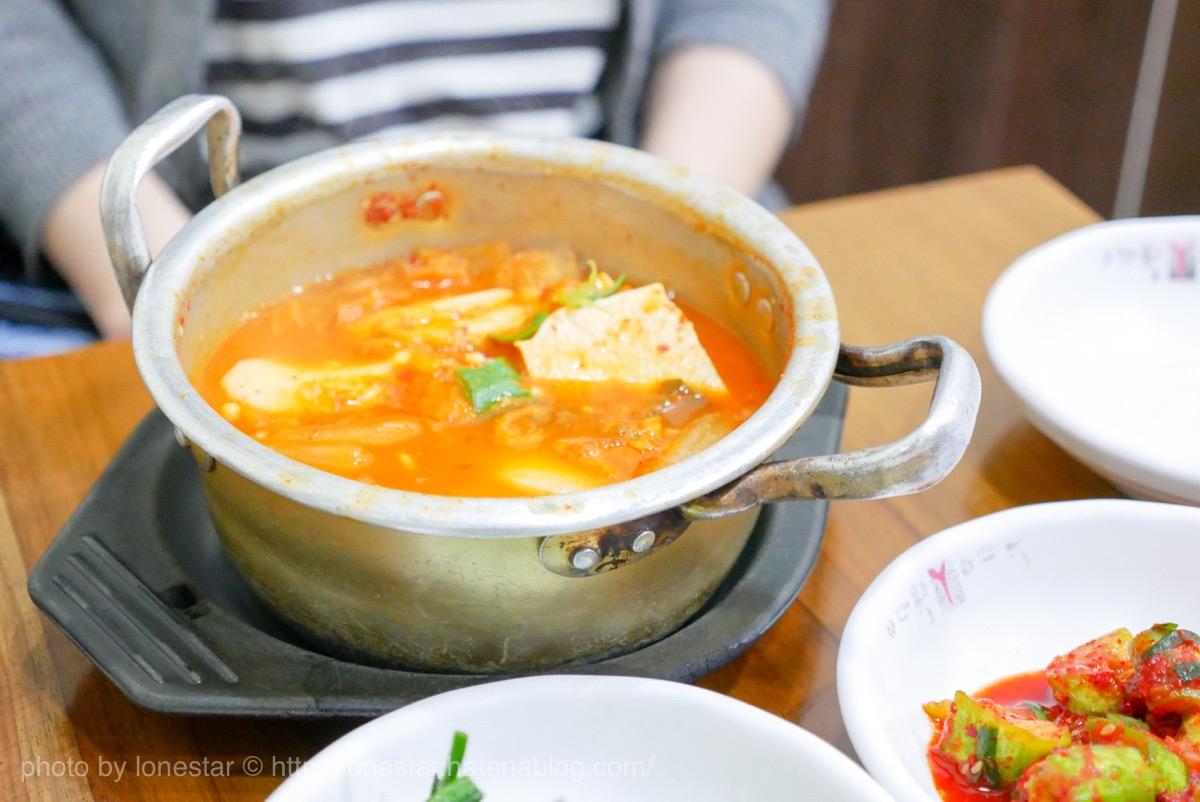 キムチチゲ 韓国