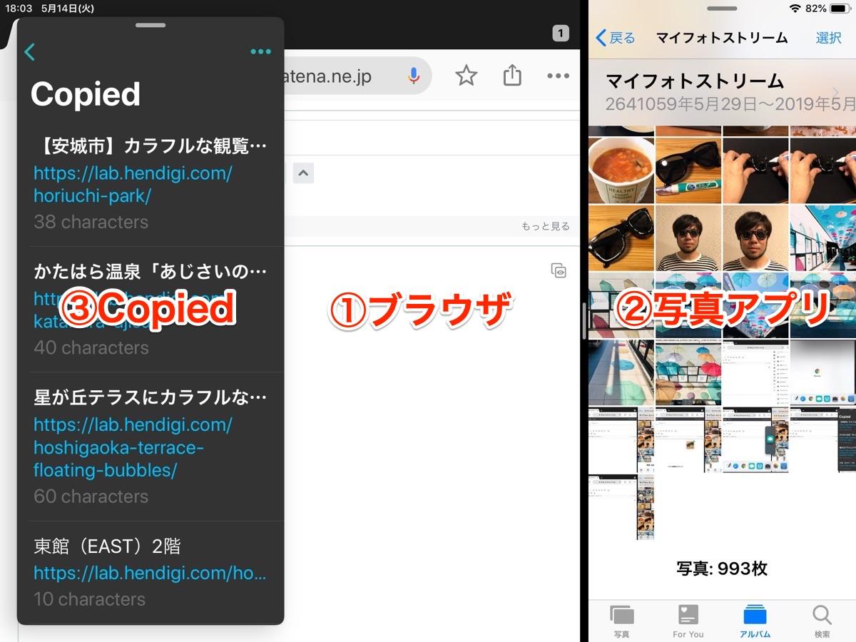 iPad ブログ更新